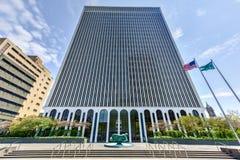 一个M&T广场-水牛城,纽约 免版税库存图片