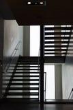 一个moder楼梯在格拉斯哥 免版税库存图片