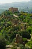 寺庙的谷 免版税库存照片