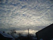 一些天空 免版税图库摄影