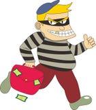 一位强盗 免版税库存照片