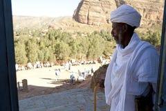 一位教士在埃塞俄比亚 库存照片