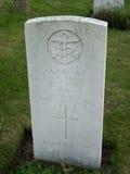 一位未知的水手的坟墓 库存照片