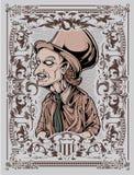 邪恶的巫术师 免版税库存图片