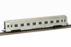一位铁路做模型者 库存图片