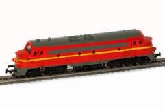 一位铁路做模型者 免版税库存图片
