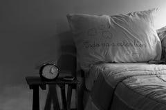 一切将是美好的枕头 免版税库存照片