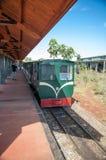 一列火车在伊瓜苏 免版税库存图片
