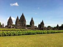 一千个寺庙风景 免版税库存图片