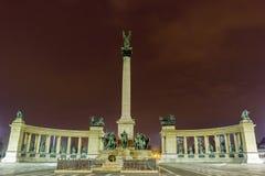 一千个纪念碑在布达佩斯 免版税图库摄影