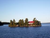 一千海岛和金斯敦安大略的,加拿大 免版税库存照片