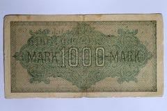 一千马克 免版税图库摄影