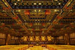 一千Buddhas的霍尔 库存图片