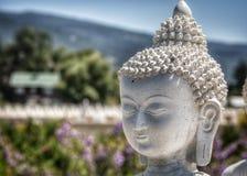 一千Buddhas, Arlee, MT Ewan庭院  免版税库存照片