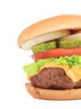 一半开胃汉堡包 免版税图库摄影