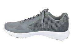 一双灰色运动鞋 免版税库存照片