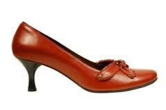 一双红色鞋子 库存照片