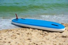 一口站立明轮轮叶beach02 图库摄影