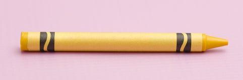一只唯一蜡笔 免版税库存图片