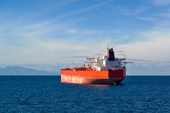 一只大货船 库存照片