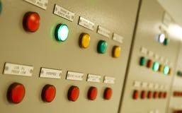 一只特大号货船的控制室 图库摄影