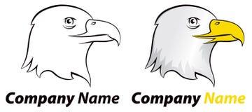 老鹰鸟商标 免版税库存图片