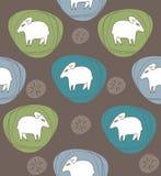 一只绵羊 免版税库存照片