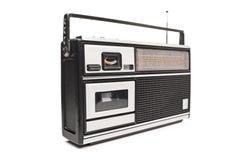 一台古板的收音机 免版税库存图片