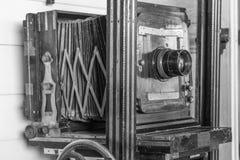 一台古老照相机 库存照片