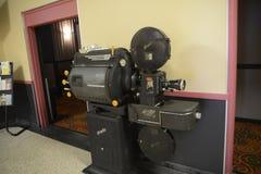一台古色古香的放映机 免版税库存照片