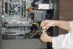 一台台式计算机 库存图片