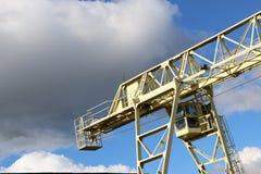 一台大桥式起重机 免版税库存图片