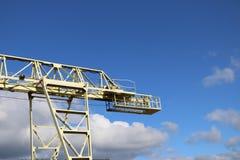 一台大桥式起重机 库存照片