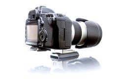 一台大照相机 免版税库存图片