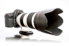 一台大照相机 免版税图库摄影