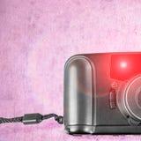 一台老影片塑料照相机 库存图片
