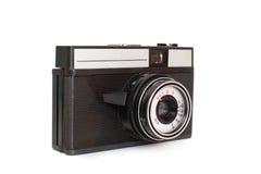 一台老手工影片照相机 免版税库存图片