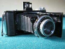 一台老照片照相机 免版税图库摄影