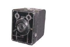 一台老照相机的被隔绝的图象 库存照片