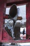 一台老船推进器 免版税库存图片