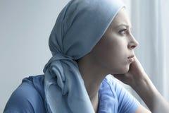 一名妇女在医院 免版税库存图片