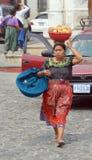 一名玛雅妇女的画象 免版税库存照片