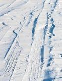一场飞雪 库存图片
