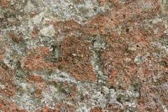 一块五颜六色的自然石头的纹理与包括的 库存图片