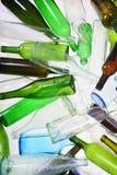 一块回收的玻璃 库存照片