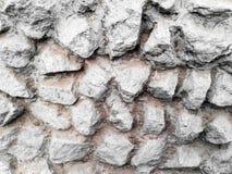 一块大石头的墙壁 免版税库存照片