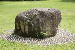 一块大石头 库存照片