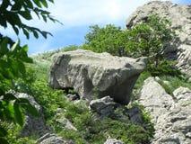 一块大石头 免版税图库摄影