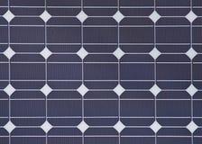一块太阳电池板的详细资料 免版税库存照片