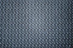 一块灰色帆布的纹理 免版税库存照片